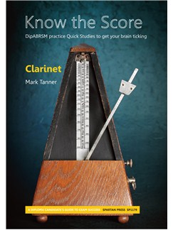 Mark Tanner: Know The Score - Clarinet Books | Clarinet