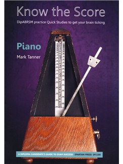 Mark Tanner: Know the Score: Piano Books | Piano