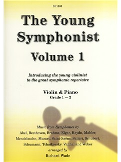 The Young Symphonist Volume 1 (Violin/Piano) Books | Violin, Piano Accompaniment