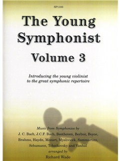The Young Symphonist Volume 3 Books | Violin, Piano Accompaniment