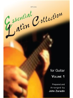 Essential Latin Collection For Guitar - Volume 1 Books | Guitar, Guitar Tab