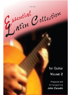 Essential Latin Collection For Guitar - Volume 2 Books | Guitar, Guitar Tab