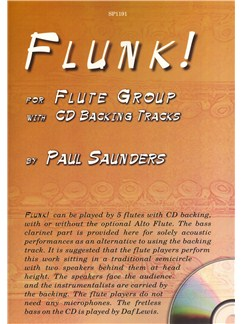 Paul Saunders: Flunk! Books | Flute (Sextet), Ensemble (Sextet)
