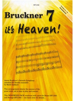 Bruckner 7 - It's Heaven! (Woodwind Pack For Flexible Ensemble) Books | Ensemble