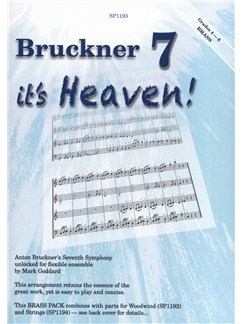 Bruckner 7 - It's Heaven! (Brass Pack For Flexible Ensemble) Books | Ensemble, Brass Ensemble