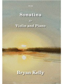 Bryan Kelly: Sonatina For Violin And Piano Books | Violin, Piano Accompaniment