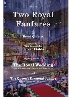 Duncan Stubbs: Two Royal Fanfares (Brass Quintet) Books | Brass Quintet