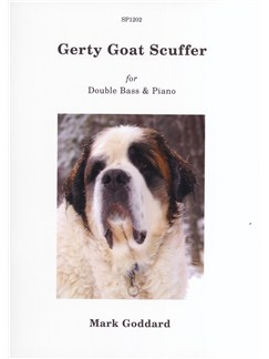 Mark Goddard: Gerty Goat Scuffer (Double Bass & Piano) Books | Double Bass, Piano Accompaniment