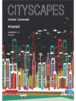 Mark Tanner: Cityscapes For Piano Books | Piano
