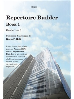 Kevin Holt: Repertoire Builder - Book 1 Books | Piano, Keyboard