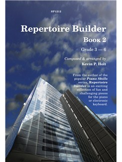 Kevin Holt: Repertoire Builder - Book 2 Books | Piano, Keyboard