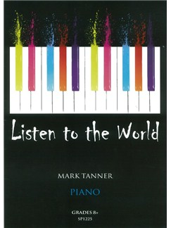 Mark Tanner: Listen To The World - Book 5 Books | Piano