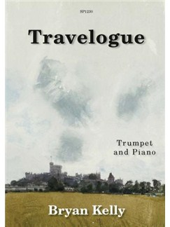 Travelogue For Trumpet & Piano Books | Trumpet, Piano