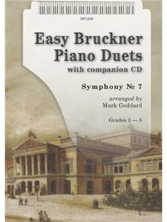Easy Bruckner Piano Duets Books and CDs | Piano Duet