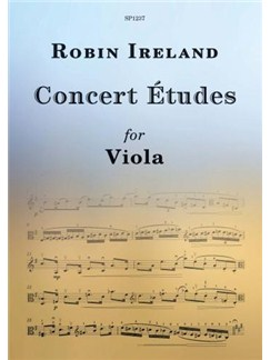 Robin Ireland: Concert Études For Viola Books | Viola