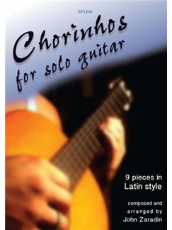 Zaradin: Chorinhos for Solo Guitar Books | Guitar
