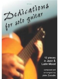 John Zaradin: Guitar Dedications Books   Guitar