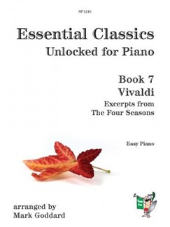 Essential Classics: Unlocked For Piano Book 7 - Vivaldi Books | Piano