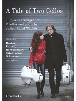 A Tale of Two Cellos: 13 Pieces arranged by Julian Lloyd Webber Books | Cello, Piano Accompaniment