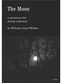 William Lloyd Webber: The Moon - a miniature for string orchestra Books | Orchestra