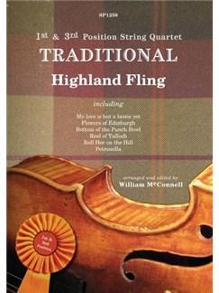 1st And 3rd Position String Quartet: Traditional - Highland Fling Books | String Quartet
