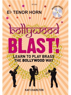 Kay Charlton: Bollywood Blast -Tenor Horn (Book/CD) Books and CDs | Tenor Horn
