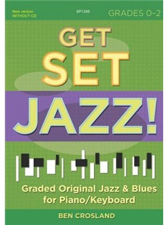 Get Set Jazz! Grades 0 - 2 Books | Piano, Keyboard