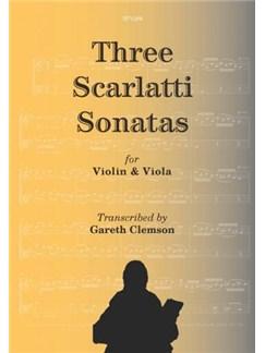 Three Scarlatti Sonatas Books | Violin, Viola
