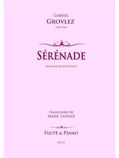 Grovlez: Sérénade for Flute and Piano Books | Flute, Piano Accompaniment