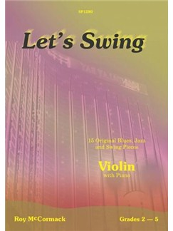 Roy McCormack: Let's Swing - Violin Books | Violin, Piano Accompaniment