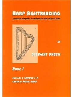 Stewart Green: Harp Sightreading - Book 1 Books | Harp