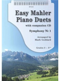 Arr. Mark Goddard: Easy Mahler Piano Duets (Book/CD) Books and CDs | Piano Duet