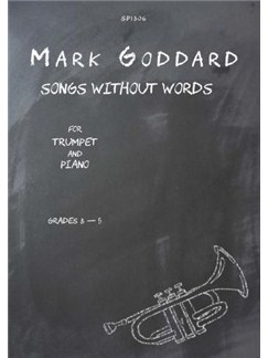 Mark Goddard: Songs without Words for Trumpet and Piano Books | Piano, Piano Accompaniment