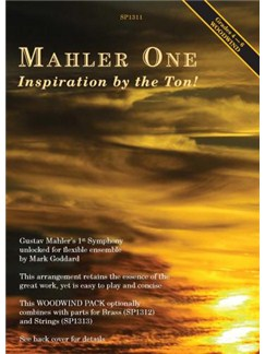 Mahler One: Inspiration By The Ton! - Woodwind Version Books | Wind Ensemble