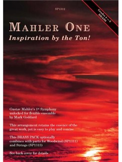 Mahler One: Inspiration By The Ton! - Brass Version Books | Brass Ensemble