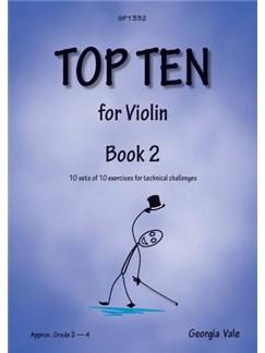 Georgia Vale: Top Ten - Book 2 Books | Violin