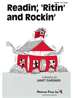 Janet Gardner: Readin', 'Ritin' And Rockin' - Director's Score Libro | Línea de Melodía, Texto y Acordes