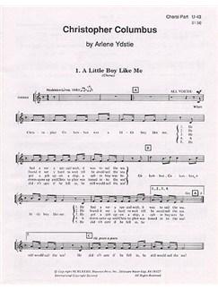 Arlene Ydstie: Christopher Columbus (Choral Part) Books |