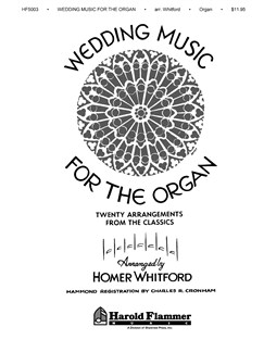 Wedding Music For The Organ Whitford Books | Organ
