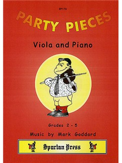 Mark Goddard: Party Pieces (Viola/Piano) Books | Viola, Piano Accompaniment