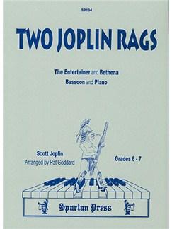 Two Joplin Rags Books | Bassoon