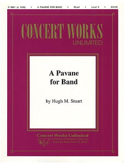 Hugh Stuart: A Pavane For Band Sc/Prts Books | Brass Instruments
