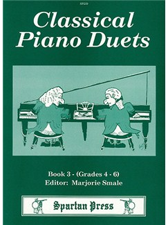 Classical Piano Duets - Book Three Books | Piano Duet