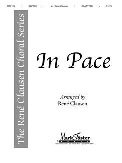 In Pace (Arr. Rene Clausen) - SSAATTBB Books | SSAATTBB