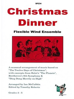 Christmas Dinner: Flexible Wind Ensemble Books | Wind Ensemble