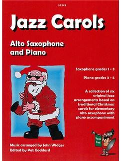 Jazz Carols Books | Saxophone, Piano Accompaniment
