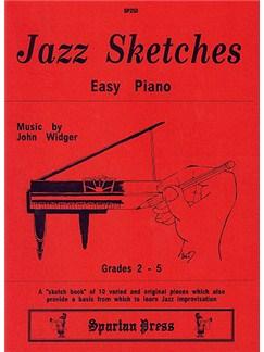 John Widger: Jazz Sketches Books | Piano