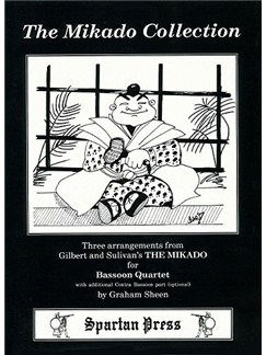 Gilbert And Sullivan: The Mikado Collection (Bassoon Quartet) Books | Bassoon (Quartet), Contrabassoon