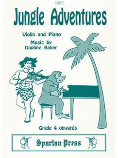 Jungle Adventures Books | Violin