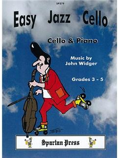 John Widger: Easy Jazz Cello Books | Cello, Piano Accompaniment